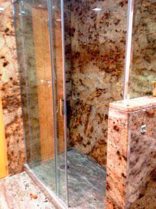 Baño de granito