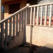 Balaustradas y pilares