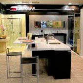 Beromar Showroom, isla cocina