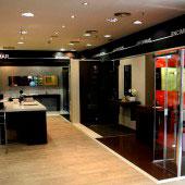 Beromar Showroom, interior tienda
