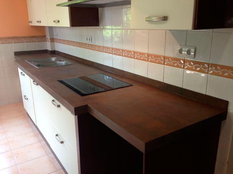Conoces el material porcel nico en encimeras marmoles y for Mejor material para encimeras de cocina