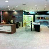 Beromar Showroom interior