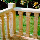 Balaustrada arenisca niwala
