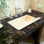 Encimera de baño en mármol 9