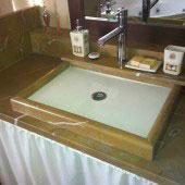 Encimera de baño en mármol 4