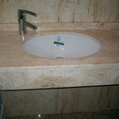 Encimera de baño en mármol 2