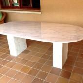 Mesa en marmol