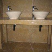 Encimera de baño en mármol 1